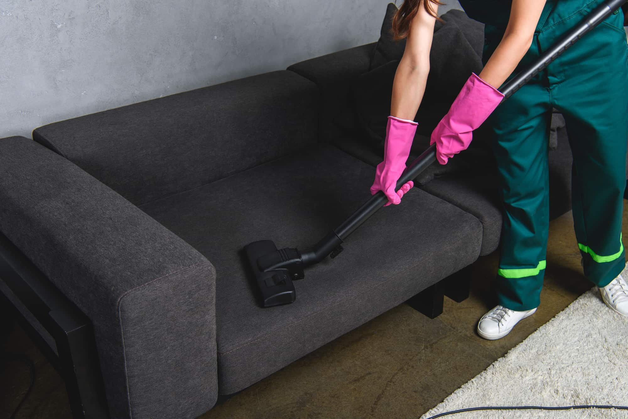 Commercial Janitorial Upholstery Cleaning